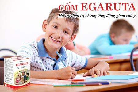 Cốm Egaruta giúp bổ sung những dưỡng chất thiết yếu cho trẻ kém tập trung chú ý